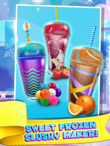 Screenshot of Dessert Slushy Maker Food Cooking Game - make candy drink for ice cream soda making salon!