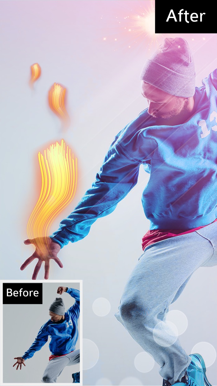 Bokeh Photo Editor – Colorful Light Camera Effects Screenshot