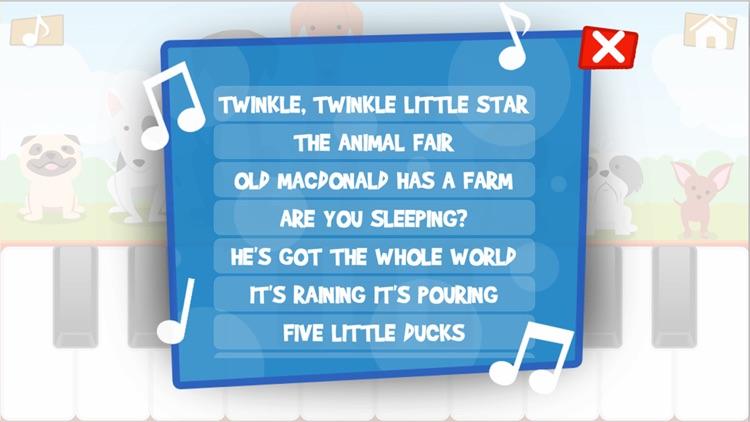 Kids Piano Melodies screenshot-4