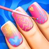 Juegos de arte de uñas y salón de belleza: Diseños de manicura de moda con ideas para la decoración