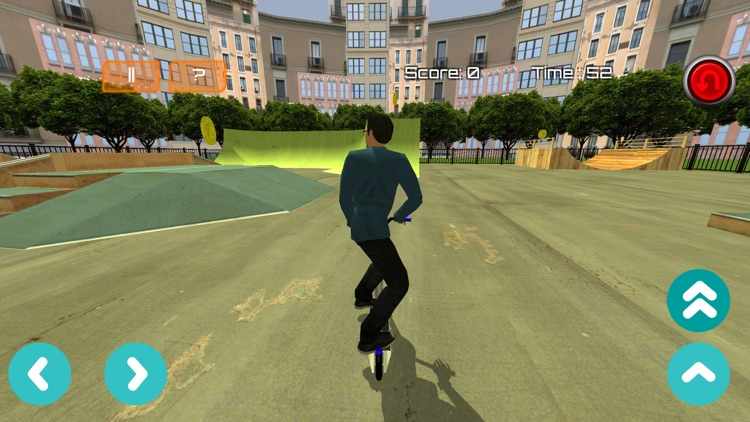 Freestyle Scooter - Scootering Game screenshot-3