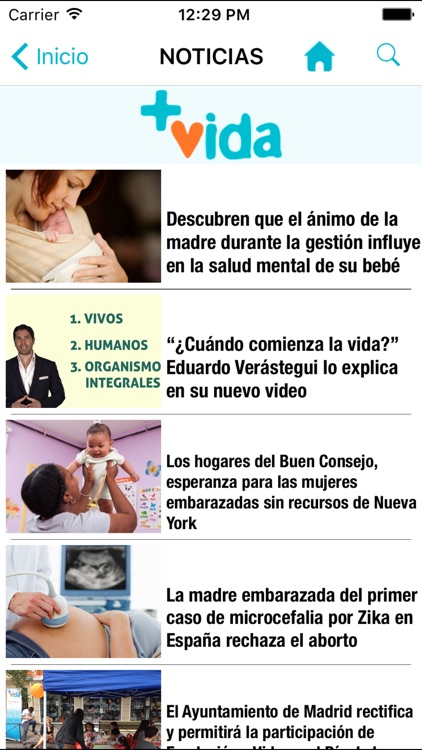Fundación +Vida screenshot-3