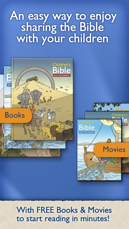 Children's Bible Books & Movies | Family & School screenshot-0
