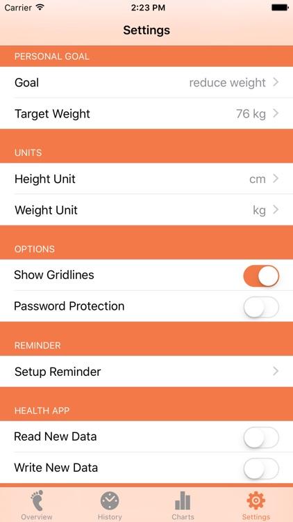 Weight Tracker - BMI screenshot-3