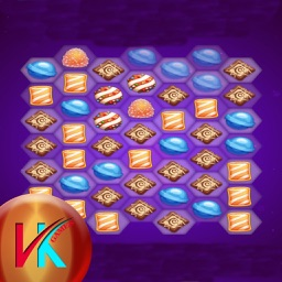 Galaxy Candy Match Puzzle