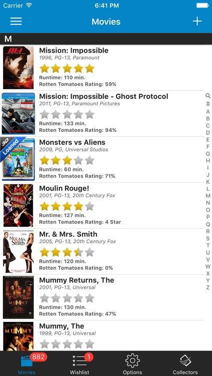 Movie Collector Manager and Inventory Database screenshot-3