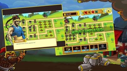 Screen Shot Three Kingdoms War: -  Heroes  Clash TD  Game 1