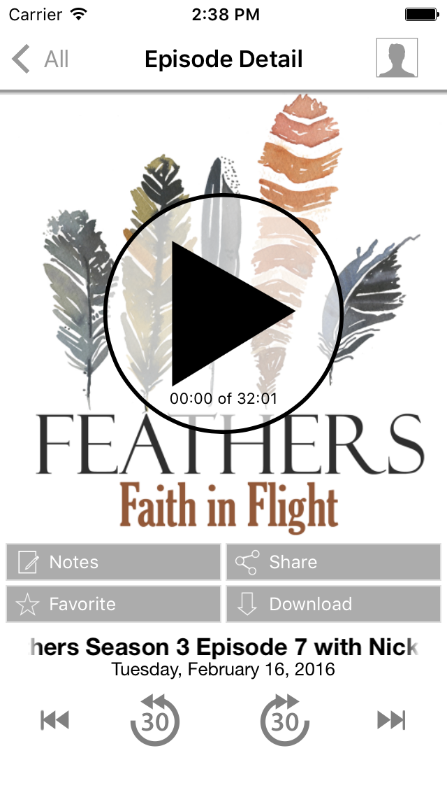 Feathers: Faith in Flight screenshot one