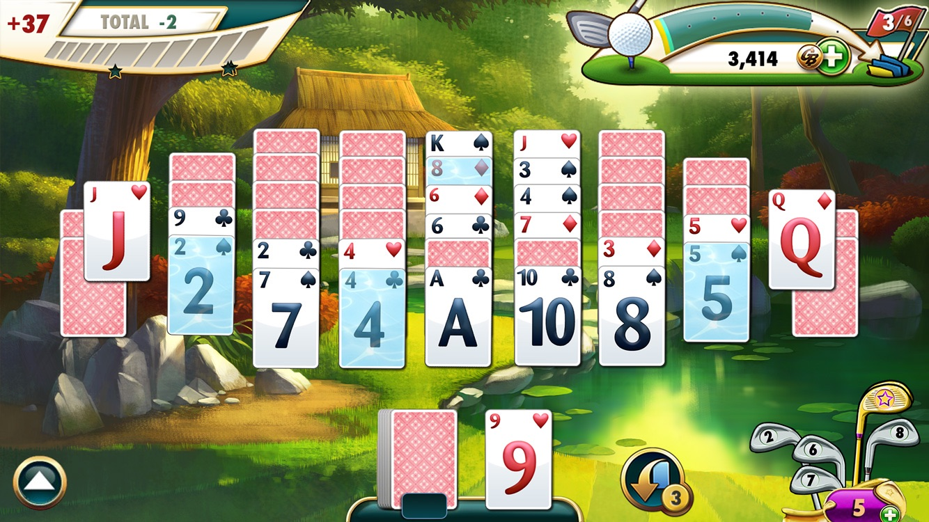 Fairway solitaire by big fish games inc for Fairway solitaire big fish games