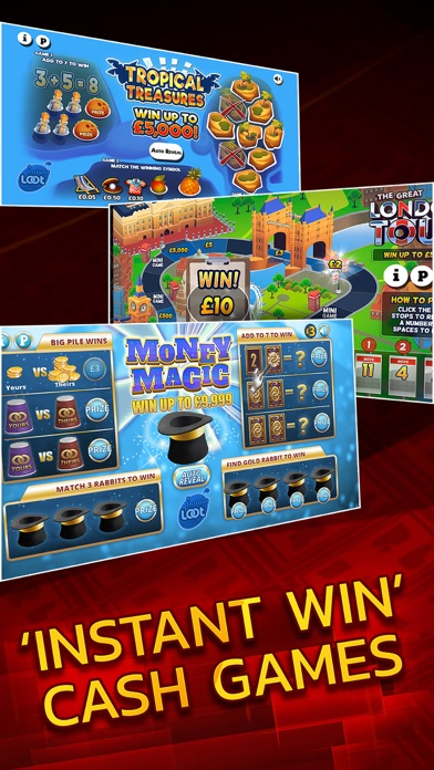 Instant Win Arcade - Real Money Scratch Cards screenshot four