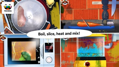 Toca Kitchen Monsters app image