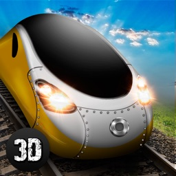 Euro Bullet Train Driving Simulator 3D Full