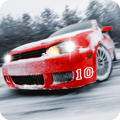 Real Snow Drifting Racer - Reckless drift racing game fever 2016 icon