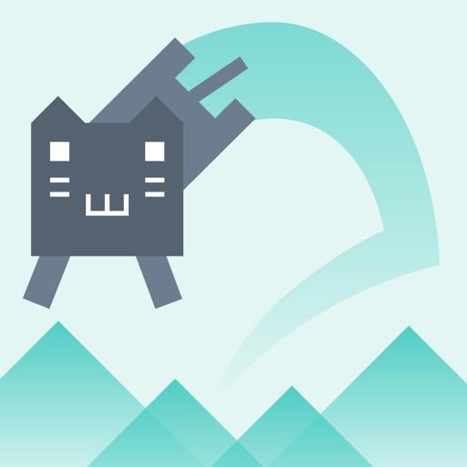 Jump Game -Cat Climb Mountain-
