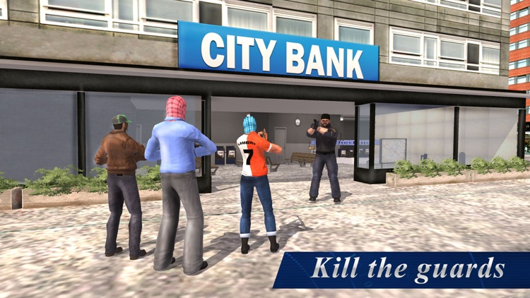 Bank Robbery Simulator – Professional heist mafia roars city screenshot-3