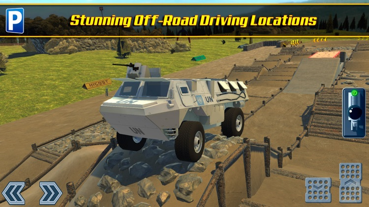 Offroad 4x4 Truck Trials Parking Simulator 2 a Real Stunt Car Driving Racing Sim screenshot-4