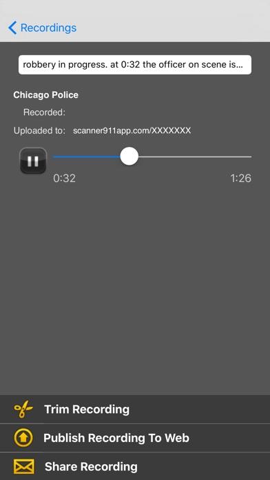 Scanner911 Pro screenshot1