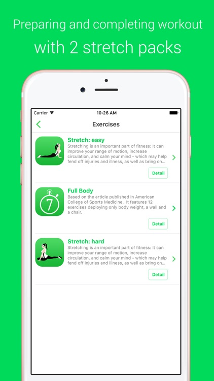 7 Minutes Workout - Your Daily Personal Fitness Trainer screenshot-3