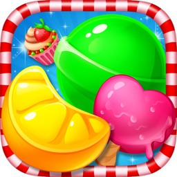 Crazy Candy Fruit Star Mania