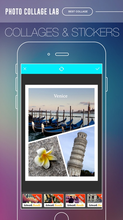 Photo Collage Lab Pro - photo editor, collage maker & creative design App screenshot-3