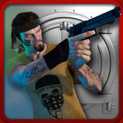 Bank Robbery Real Car Driver Escape Shooting Game