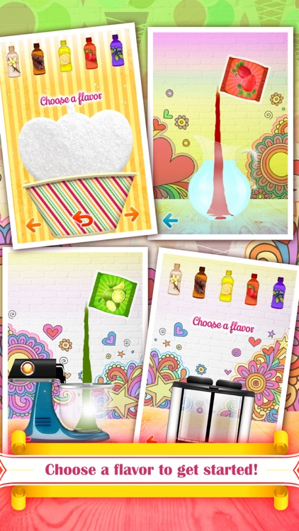 Ice Cream Yogurt Maker! Make Homemade Frozen Food Treats. Swirl, Decorate, Serve and Eat.