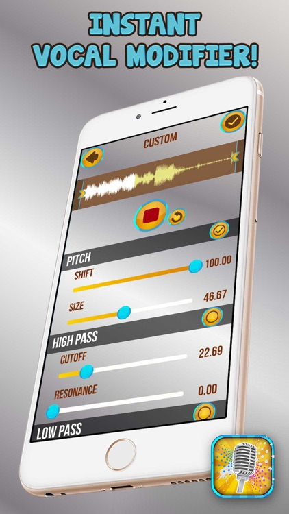 Voice Changer Audio Effects – Funny Sound Recorder Editor and