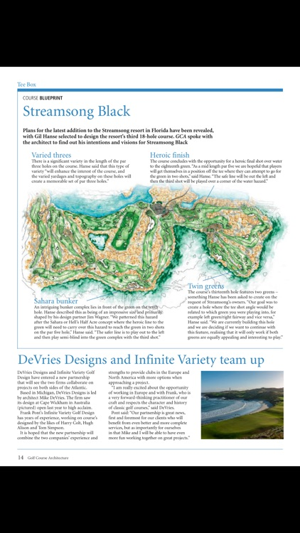Golf Course Architecture (mag) screenshot-3
