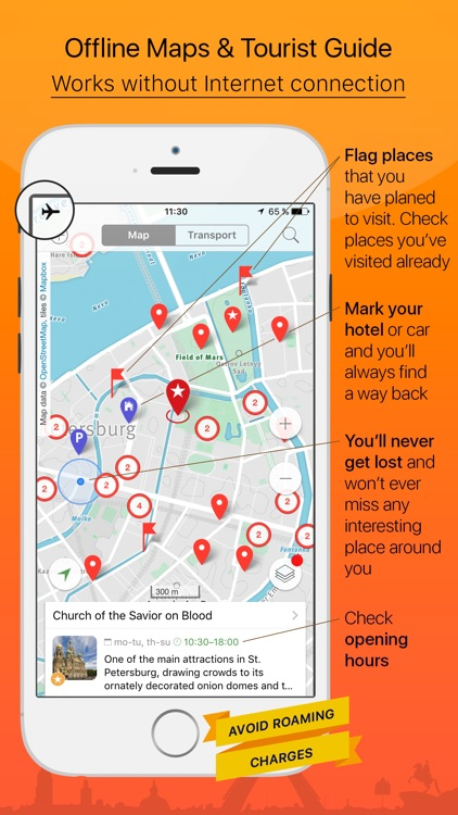 Saint Petersburg – tourist guide & offline map – Tournavigator
