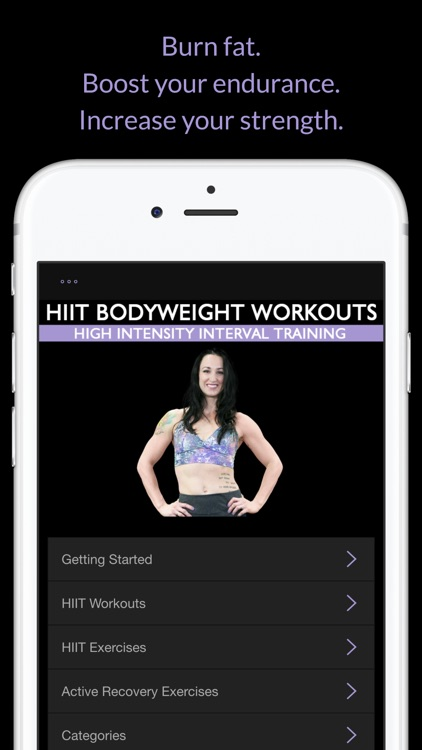 HIIT Bodyweight Workouts: High Intensity Interval Training