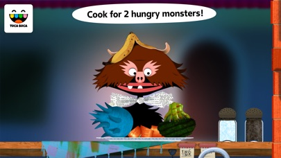 Toca Kitchen Monsters review screenshots