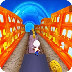 Subway kid surf