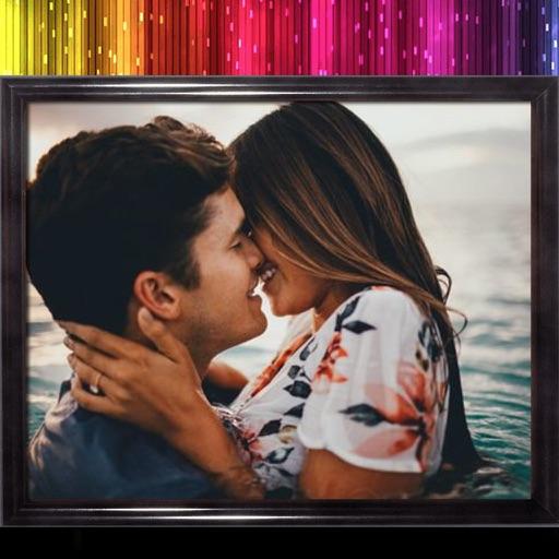 Glitter Photo Frame - Make Awesome Photo using beautiful Photo Frames iOS App