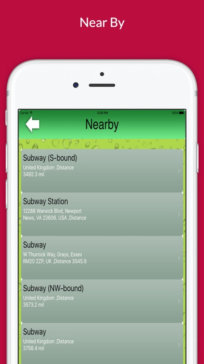 "Find Restaurant ""For Subway"" screenshot-3"
