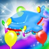 Color Balloons Fly & Jump Game