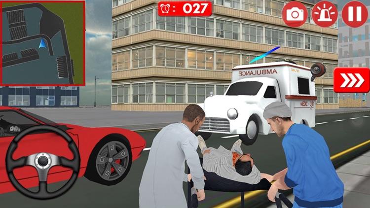 Multilevel Flying Ambulance HD Bundle ID screenshot-4