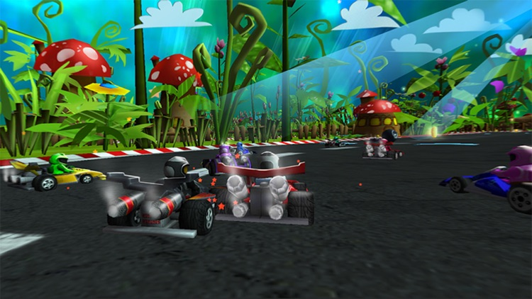 Bomber Kart Racing! screenshot-0