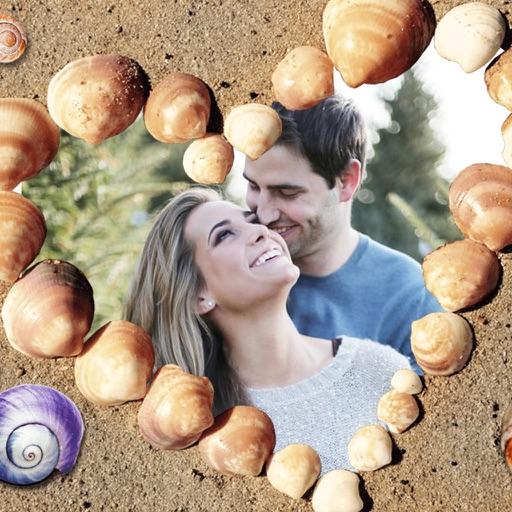 HoneyMoon Beach Photo Frames - Decorate your moments with elegant photo frames iOS App