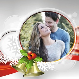 Happy Christmas Photo Frames - Instant Frame Maker & Photo Editor