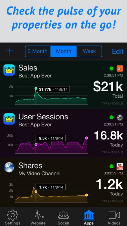 Pocket Analytics screenshot-4