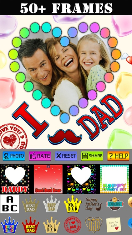 Happy Father's Day Frames