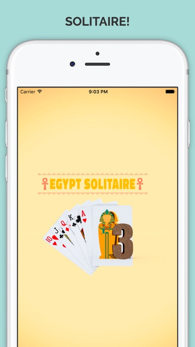 Pyramid Tri-Peaks Solitaire Golden Pharoahs Card Party of Egypt Pro Screenshot