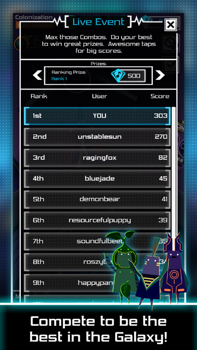 Groove Galaxy screenshot two