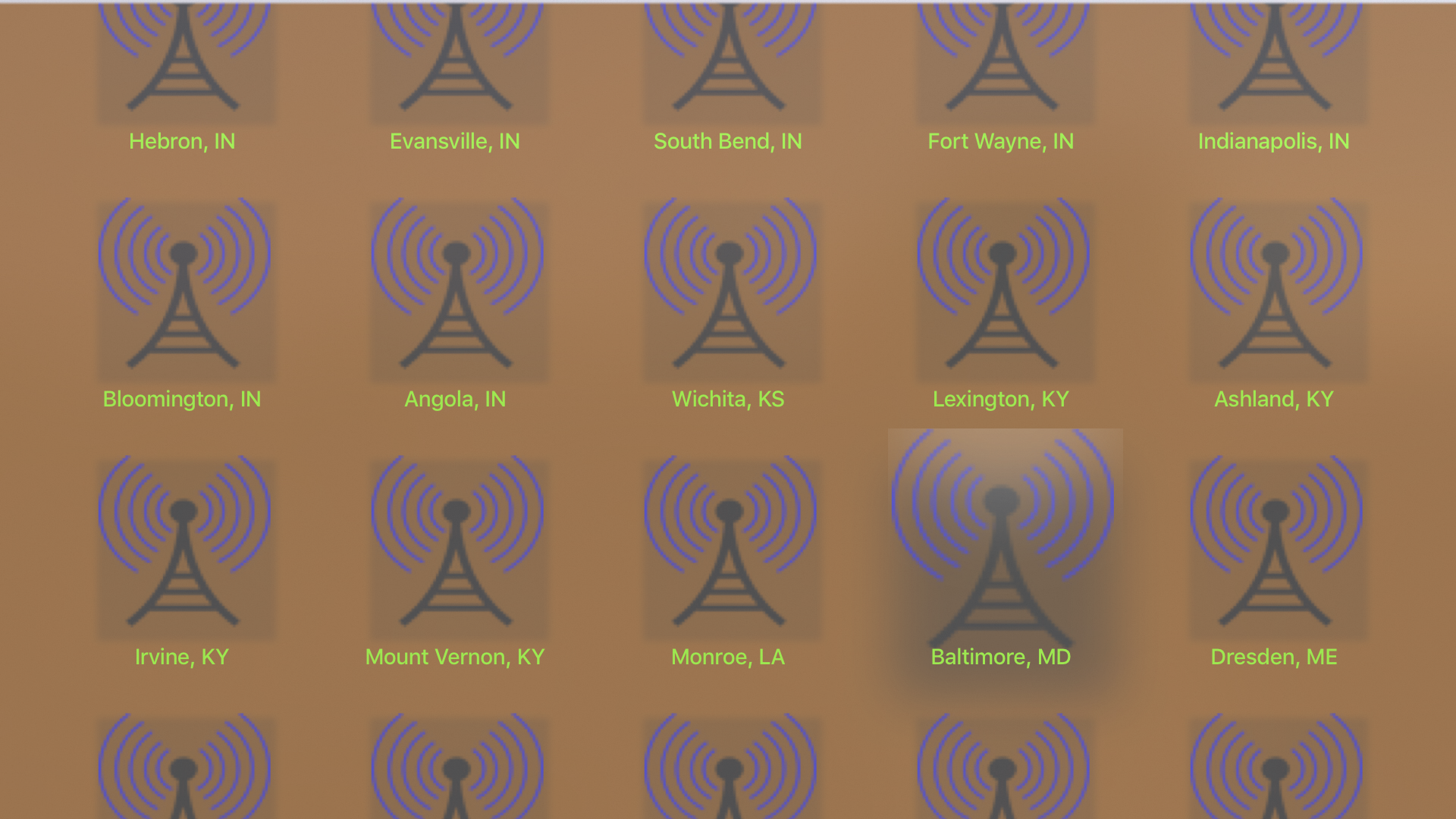Instant NOAA Radios Elite screenshot 13
