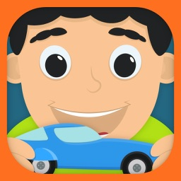 Kids RC Toy car mechanics Game for curious boys and girls to look, interact, listen and learn