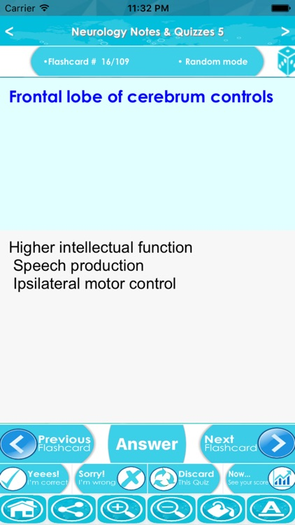 Neurology Exam Review : 3800 Quiz & Study Notes screenshot-4