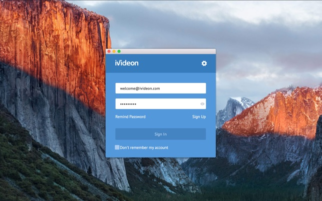 Ivideon Client on the Mac App Store