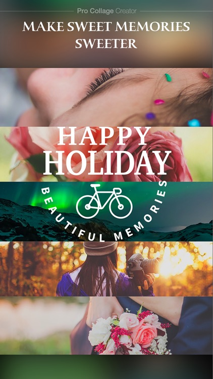 Pro Collage Creator – Add beautiful text & artwork to photos