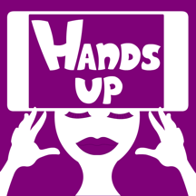 Hands up alias charades and heads up activity game for fun friends company Free