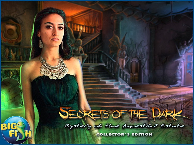 Secrets of the Dark: Mystery of the Ancestral Estate HD - A Mystery Hidden Object Game screenshot-4